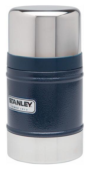 Stanley Classic Vakuum Food-Container 500ml Hammerschlag navy blau